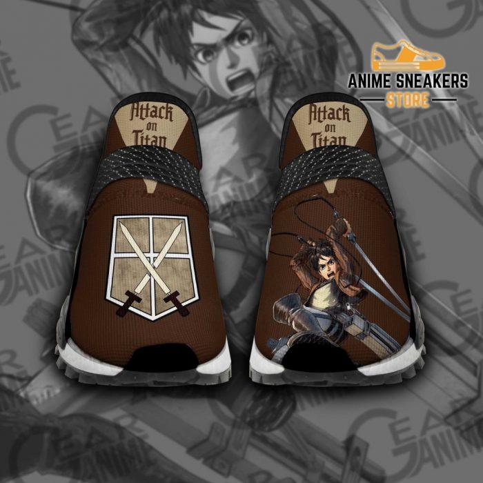 Eren Jeager Shoes Attack On Titan Custom Anime Tt11 Men / Us6 Nmd