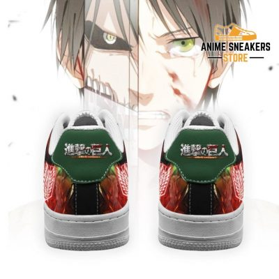 Eren Yeager Attack On Titan Sneakers Aot Anime Shoes Air Force