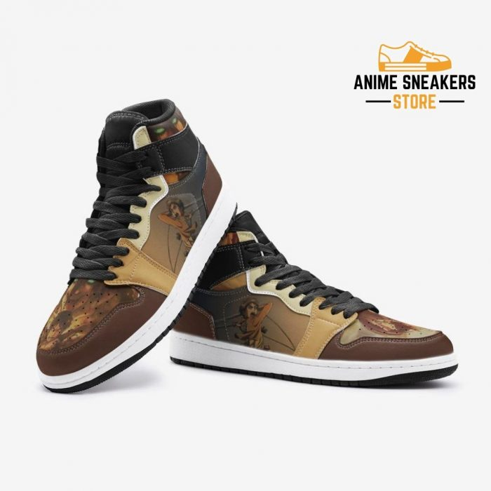 Eren Yeager Attack On Titan Custom J-Force Shoes Mens