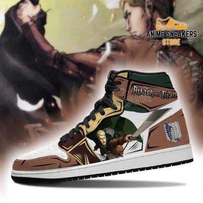 Erwin Smith Sneakers Attack On Titan Anime Jd