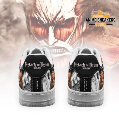 Aot Titan Giant Sneakers Attack On Anime Manga Shoes Air Force