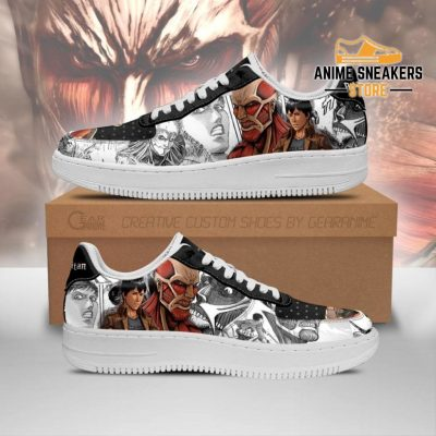 Aot Titan Giant Sneakers Attack On Anime Manga Shoes Men / Us6.5 Air Force