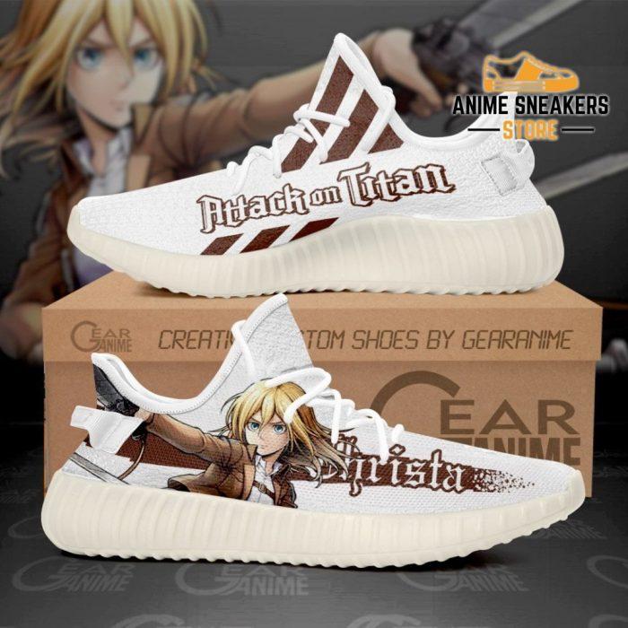 Historia Reiss Shoes Attack On Titan Custom Anime Sneakers Tt10 Men / Us6 Yeezy