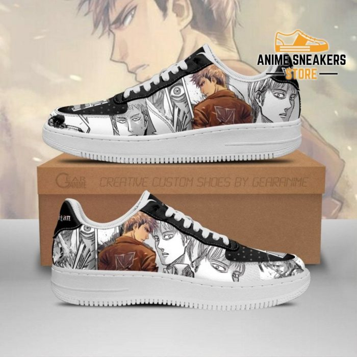 Aot Jean Sneakers Attack On Titan Anime Shoes Mixed Manga Men / Us6.5 Air Force