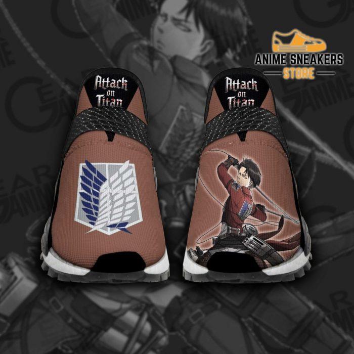 Levi Ackerman Shoes Fighting Attack On Titan Anime Tt11 Men / Us6 Nmd