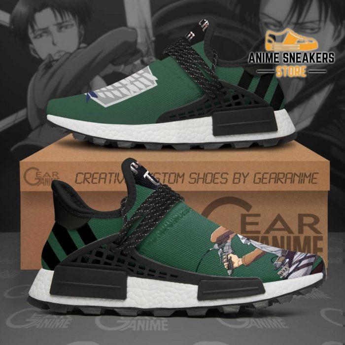 Levi Ackerman Shoes Attack On Titan Custom Anime Tt11 Nmd