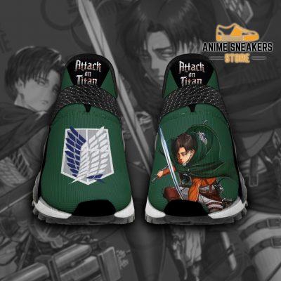 Aot Levi Ackerman Shoes Attack On Titan Anime Tt11 Men / Us6 Nmd