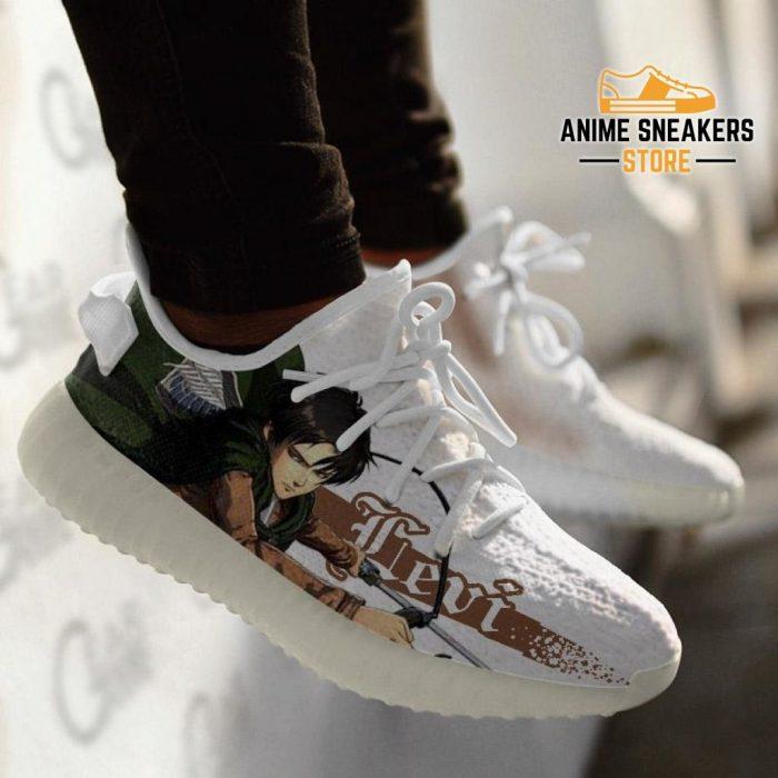 Levi Ackerman Shoes Attack On Titan Custom Anime Sneakers Tt10 Yeezy