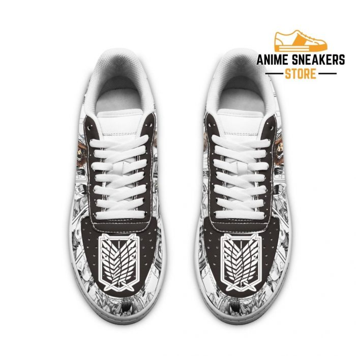 Attack On Titan Sneakers Manga Anime Shoes Fan Gift Idea Tt04 Air Force