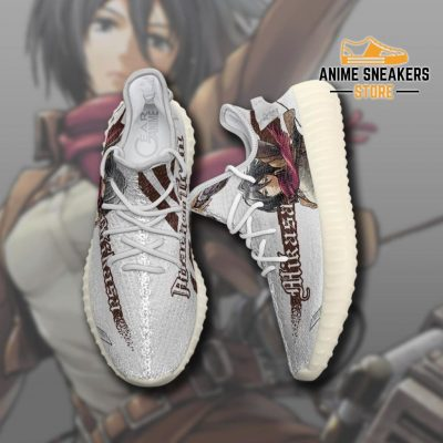 Mikasa Ackerman Shoes Attack On Titan Custom Anime Sneakers Tt10 Yeezy