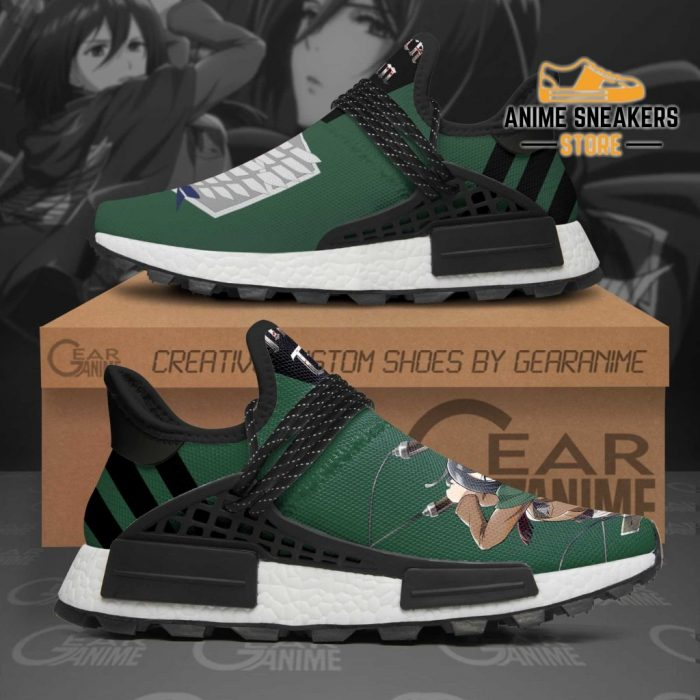 Mikasa Shoes Scout Squad Attack On Titan Anime Tt11 Nmd