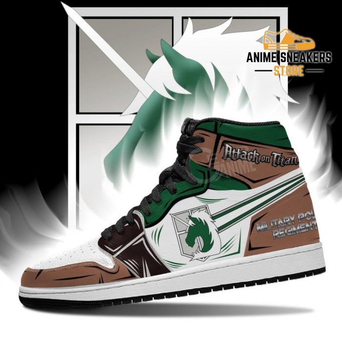 Military Police Sneakers Attack On Titan Anime Jd