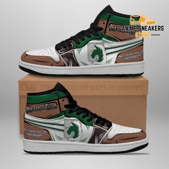 Military Police Sneakers Attack On Titan Anime Men / Us6.5 Jd