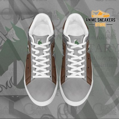 Military Police Skate Sneakers Uniform Attack On Titan Anime Shoes Pn10