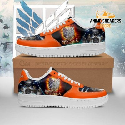 Attack On Titan Sneakers Aot Anime Shoes Men / Us6.5 Air Force