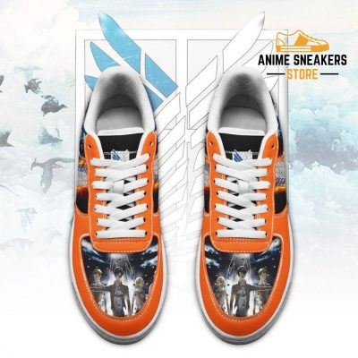 Attack On Titan Sneakers Aot Anime Shoes Air Force