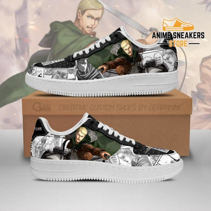 Aot Scout Erwin Sneakers Attack On Titan Anime Shoes Mixed Manga Men / Us6.5 Air Force