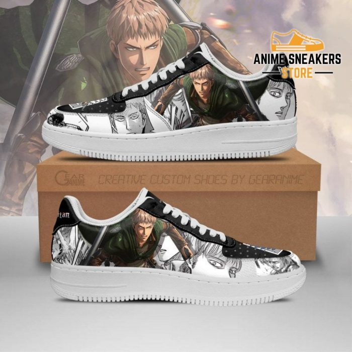 Aot Scout Jean Sneakers Attack On Titan Anime Shoes Mixed Manga Men / Us6.5 Air Force