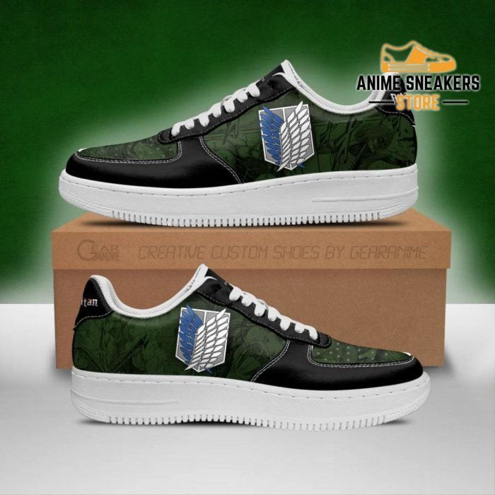 Aot Scout Regiment Sneakers Attack On Titan Anime Shoes Men / Us6.5 Air Force