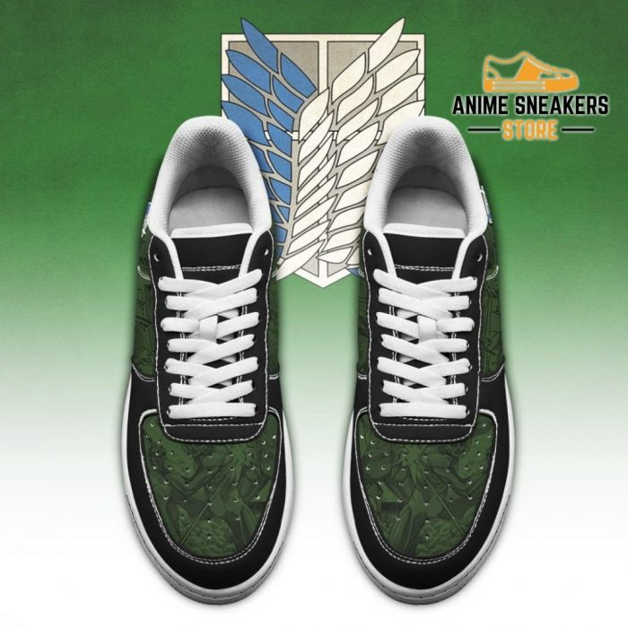 Aot Scout Regiment Slogan Sneakers Attack On Titan Anime Shoes Air Force
