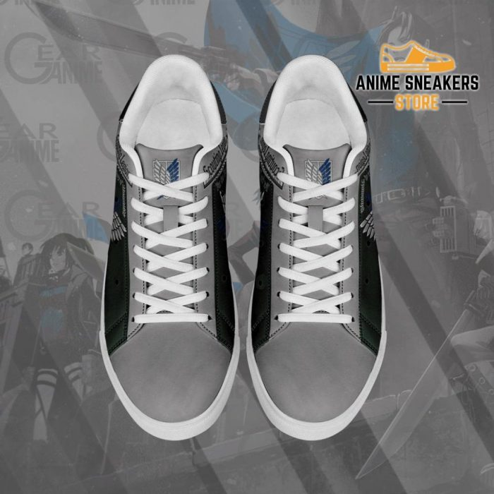 Scouting Legion Skate Sneakers Attack On Titan Anime Shoes Pn10