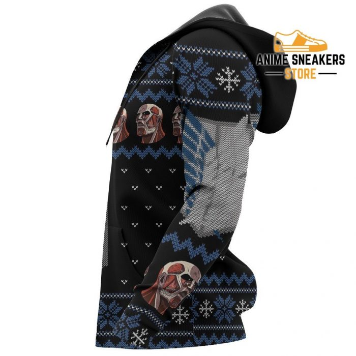 Attack On Titan Shirt Scout Ugly Christmas Sweater Jacket Costume All Over Printed Shirts
