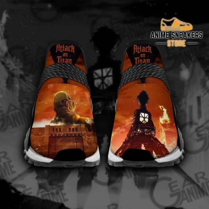 Attack On Titan Shoes Aot Custom Anime Men / Us6 Nmd