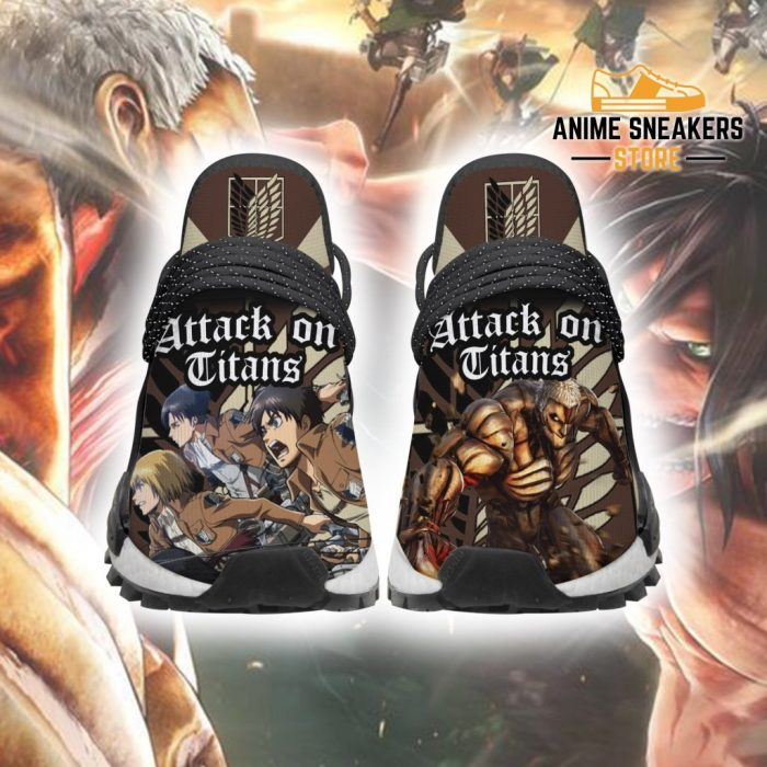 Attack On Titan Shoes Characters Custom Anime Sneakers Men / Us6 Nmd
