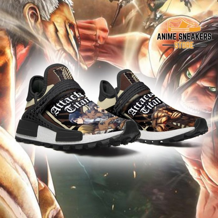 Attack On Titan Shoes Characters Custom Anime Sneakers Nmd