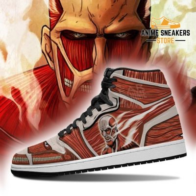 Colossal Titan Sneakers Attack On Anime Jd