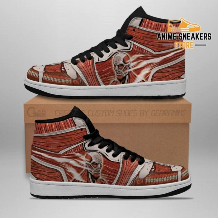 Colossal Titan Sneakers Attack On Anime Men / Us6.5 Jd
