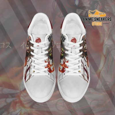 Eren Titan Skate Sneakers Uniform Attack On Anime Shoes Pn10