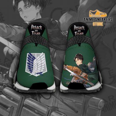 Levi Ackerman Shoes Attack On Titan Custom Anime Men / Us6 Nmd