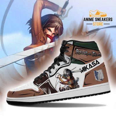 Mikasa Ackerman Sneakers Attack On Titan Anime Jd