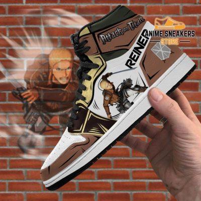 Reiner Braun Sneakers Attack On Titan Anime Jd