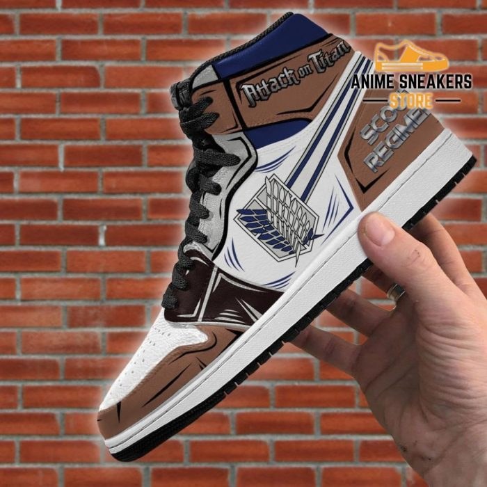 Scout Regiment Sneakers Attack On Titan Anime Jd