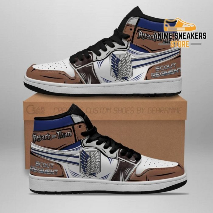 Scout Regiment Sneakers Attack On Titan Anime Men / Us6.5 Jd