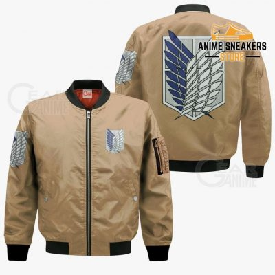 Aot Wings Of Freedom Scout Shirt Costume Attack On Titan Hoodie Sweater Bomber Jacket / S All Over