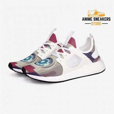 Avengers Ironman Custom Nomad Shoes 3 / White Mens