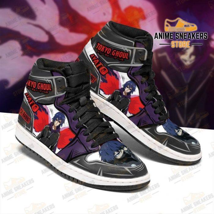 Ayato Sneakers Custom Tokyo Ghoul Anime Shoes Mn05 Jd