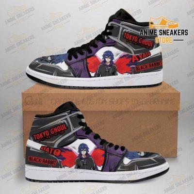 Ayato Sneakers Custom Tokyo Ghoul Anime Shoes Mn05 Men / Us6.5 Jd