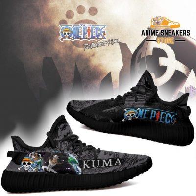 Bartholomew Kuma Yeezy Shoes One Piece Anime Fan Gift Tt04
