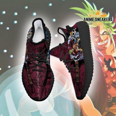 Bartolomeo Yeezy Shoes One Piece Anime Fan Gift Tt04