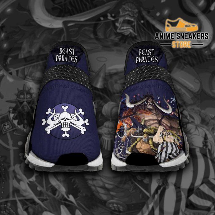 Beast Pirates Shoes One Piece Custom Anime Tt12 Men / Us6 Nmd