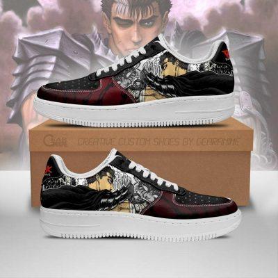 Berserk Guts Sneakers Berserk Anime Shoes Mixed Manga Men / US6.5 Official Berserk Merch