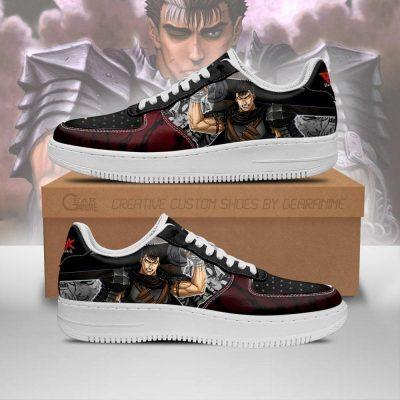 Berserk Guts Sneakers Sword Berserk Anime Shoes Mixed Manga Men / US6.5 Official Berserk Merch