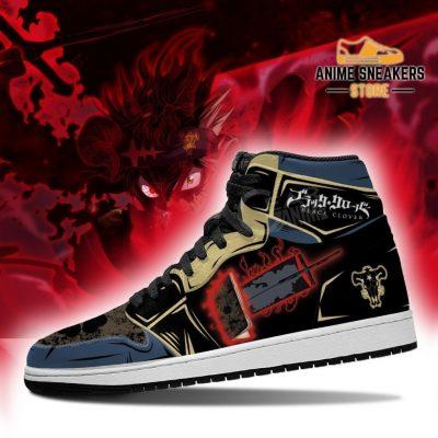 Black Clover Asta Sneakers Boots Grimoire Sword Anime Jd