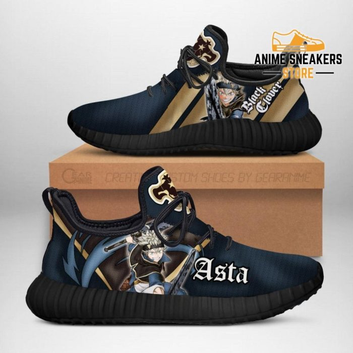 Black Clover Asta Reze Shoes Bull Knight Anime Sneakers Men / Us6