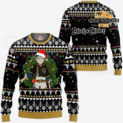 Asta Ugly Christmas Sweater Black Clover Anime Xmas Gift Va11 / S All Over Printed Shirts