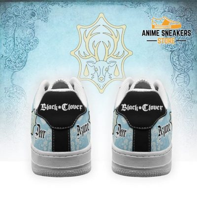 Black Clover Shoes Magic Knights Squad Azure Deer Sneakers Anime Air Force